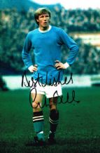 Colin Bell Signed Autograph Signed Photo - Manchester City